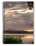 Fisherman's Sky Spiral Notebook