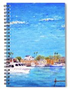 Fisherman's Village Spiral Notebook