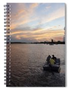 Fishers Of The Night Spiral Notebook