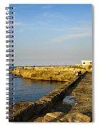 Fishing - Alexandria Egypt Spiral Notebook