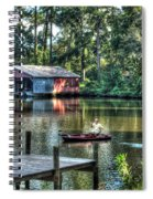 Fishing At Big Daddy's Spiral Notebook
