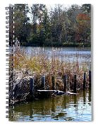 Fishing At Weeks Bay Spiral Notebook