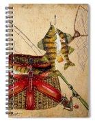Fishing Basket  Spiral Notebook