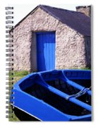 Fishing Blues Spiral Notebook