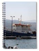 Fishing Boat Apostolos - Samos Spiral Notebook