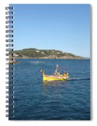 Fishing Boat - Cote D'azur Spiral Notebook