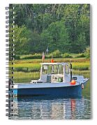 Fishing Boat Cape Neddick Maine Spiral Notebook