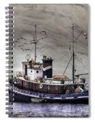 Fishing Boat Spiral Notebook