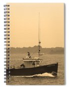 Fishing Boat Portland Maine Spiral Notebook