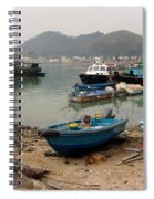 Fishing Boats - Hong Kong Spiral Notebook