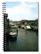 Fishing Boats In Fishtown Spiral Notebook