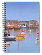 Fishing Boats In The Howth Marina Spiral Notebook