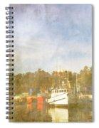 Fishing Boats Newport Oregon Spiral Notebook