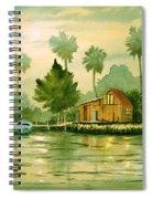 Fishing Cabin - Aucilla River Spiral Notebook
