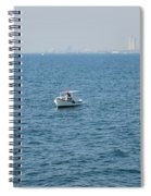 Fishing Can Be Lonely Spiral Notebook