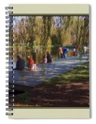 Fishing Contest - Easton Waterfowl Festival Spiral Notebook