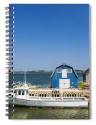 Fishing Dock In Prince Edward Island Spiral Notebook