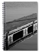 Fishing Dock Spiral Notebook