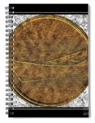 Fishing Dory - Brass Etching Spiral Notebook