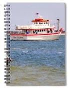 Fishing Fantasy Spiral Notebook