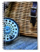 Fishing - Fly Fishing Spiral Notebook