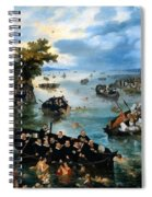 Fishing For Souls Spiral Notebook