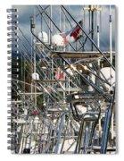 Fishing Fury Spiral Notebook
