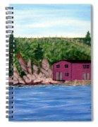 Fishing Gear Stage Spiral Notebook