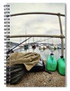 Fishing Gear Spiral Notebook
