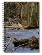Fishing In Pacific Northwest Spiral Notebook