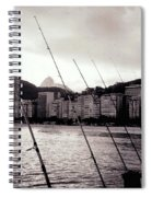 Fishing In Rio Spiral Notebook