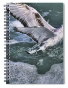 Fishing In The Foam Spiral Notebook