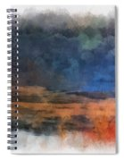 Fishing In The Fog Photo Art Spiral Notebook