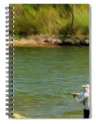 Fishing Lake Taneycomo Spiral Notebook