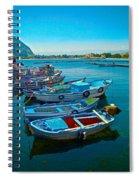Fishing Livelihood  Spiral Notebook
