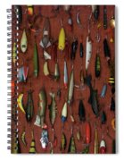 Fishing Lures 01 Spiral Notebook