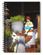 Fishing Off The Front Porch Spiral Notebook