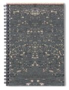Fishing On The Lake Spiral Notebook