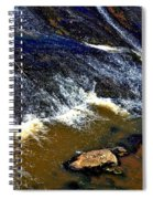 Fishing On The South Fork River Spiral Notebook