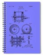 Fishing Reel Patent 1930 Spiral Notebook