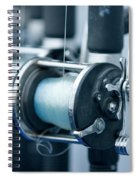 Fishing Reels On A Charter Boat Spiral Notebook