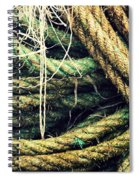 Fishing Rope Textures Spiral Notebook