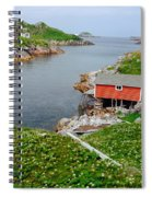 Fishing Stage Little Fogo Island Newfoundland Spiral Notebook