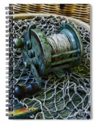 Fishing - That Old Fishing Reel Spiral Notebook