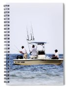 Fishing The Shallows Spiral Notebook