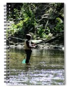Fishing The Wissahickon Spiral Notebook