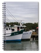 Fishing Trawlers Spiral Notebook