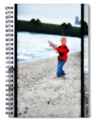 Fishing With Dad - Catch And Release Spiral Notebook