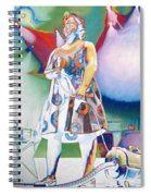 John Fishman And Vacuum Spiral Notebook
