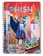 Fishman In Vegas Spiral Notebook